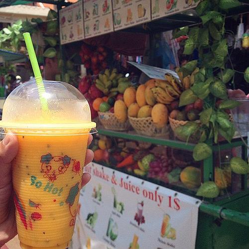 Mango & Passion Fruit Shake - Live Remedy