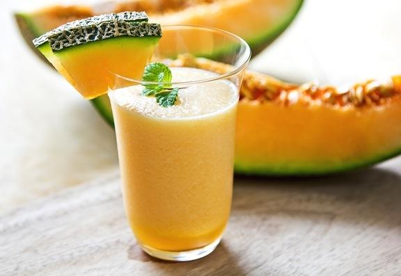 Cantaloupe-smoothie