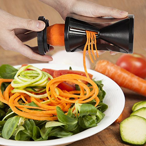 xclusive meals spiralizer review giveaway raw food solution. Black Bedroom Furniture Sets. Home Design Ideas