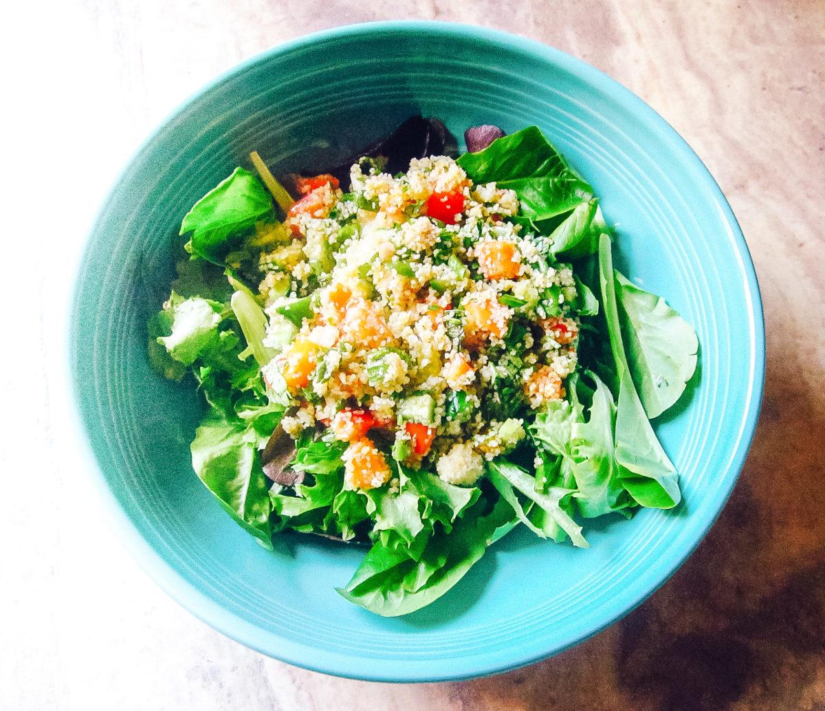 fonio-salad